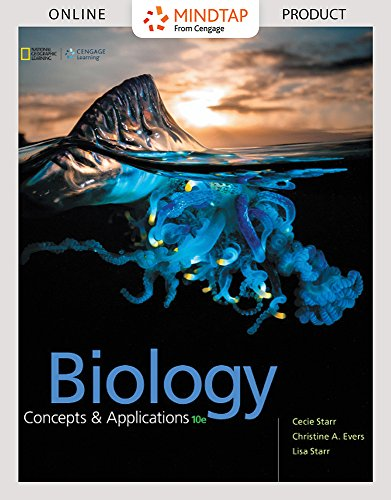 MindTap Biology for Starr/Evers/Starr's Biology: Concepts and Applications, 10th Edition by Cengage Learning