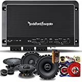 "Rockford Fosgate R250X4 Prime 250 Watts 4-Channel Amplifier + (2) Alpine SPS-610C 6-1/2"" 2-Way Component Speaker + (2) SPS-610 6-1/2"" 2-Way Speaker + Amp Kit"