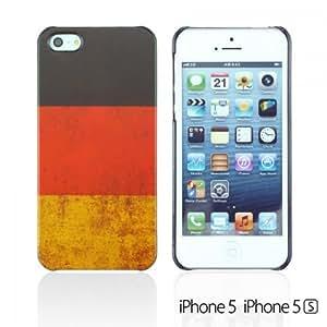 OnlineBestDigital - Vintage National Flag Hard Back Case for Apple iPhone 5S / Apple iPhone 5 - Germany