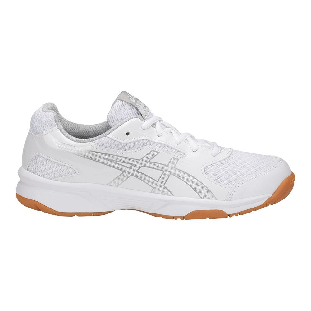 ASICS Women's Upcourt 2 Volleyball Shoe B071VRL4B2 9.5 B(M) US|White/Silver