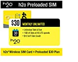 H2O Wireless H2O-30 SIM BUNDLE - Unlocked Phone - Yellow
