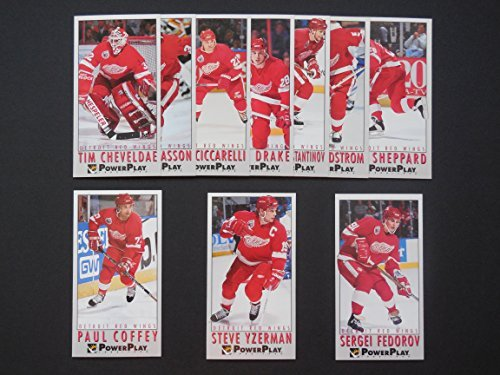 93-94 Fleer Power Play Hockey Team Set (Tall Boys measure 2 1/2' x 5