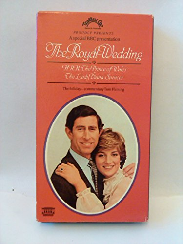 The Royal Wedding: HRH The Prince of Wales: The Lady Diana Spencer BBC VHS