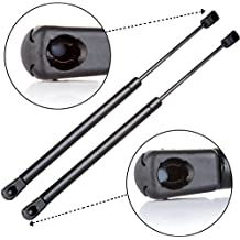 ECCPP 2pcs Truck Camper Top Rear Window Lift Supports Strut Gas Springs C16-08941 SE150P30M10 C1608941