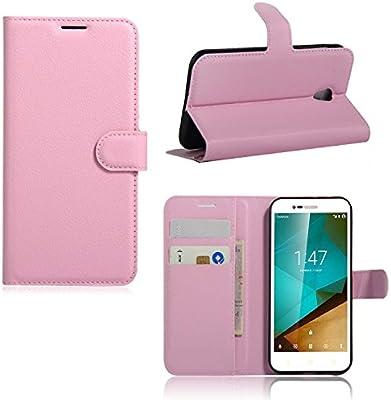 Guran® Funda de Cuero para Vodafone Smart Prime 7 VF600 Smartphone ...