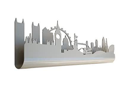 Skyline 3.07 Perchero Decorativo de Pared, diseño London ...