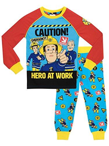 (Fireman Sam Boys Pajamas Size)