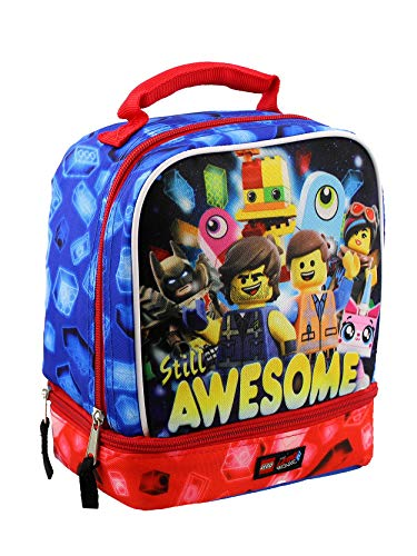- Lego Movie 2 The Second Part Boys Soft Dual Compartment School Lunch Box (One Size. Blue/Multi)