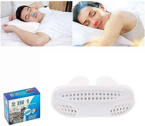 WDXIN Roncador Dificultad para Respirar Durante El Sueño ...