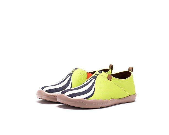 UIN Chêne Chaussures sportives de toiles peintes blanc cassé pour femme (35) b0fVhTwH