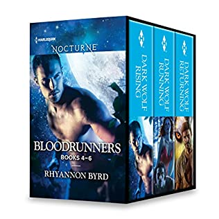 book cover of Bloodrunners Series Books 4-6