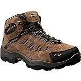 Hi-Tec Men's Bandera Mid Waterproof Hiking Boot, Bone/Brown/Mustard, 8.5 M US