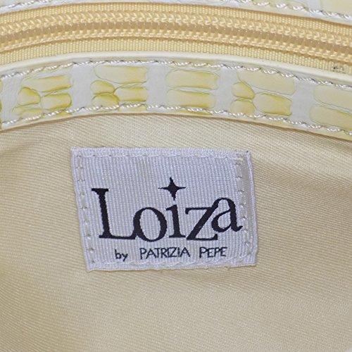 BORSA DONNA BAULETTO LOIZA BY PATRIZIA PEPE ART.7V0355/AP46-Y186 GIALLO