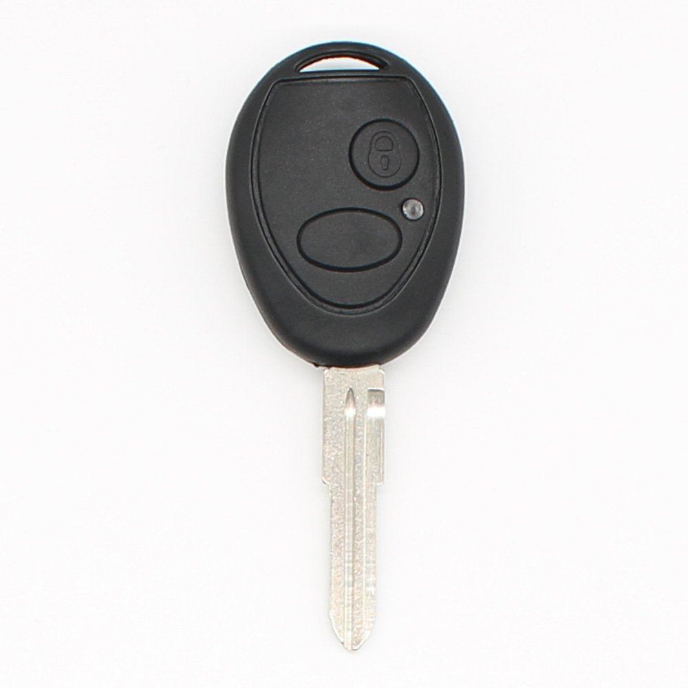 2 Buttons Remote Key Fob Case Key Shell Cover for Land Rover Discovery 2 1999-2004