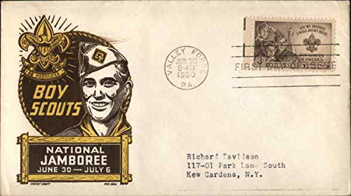 Collectible First Day Cover (Boy Scouts National Jamboree June 30-July 6 Original First Day Cover)