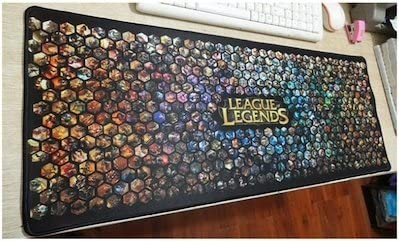 3/ mm Grande League of Legends Gaming Mouse pad/  / 700/ mm 300/ MM