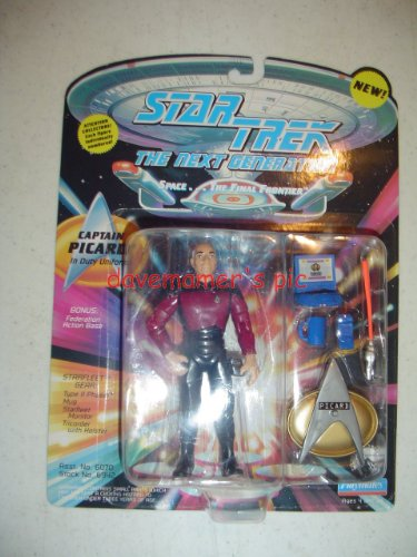 Star Trek the Next Generation Captain Picard in Duty Uniform 4.5