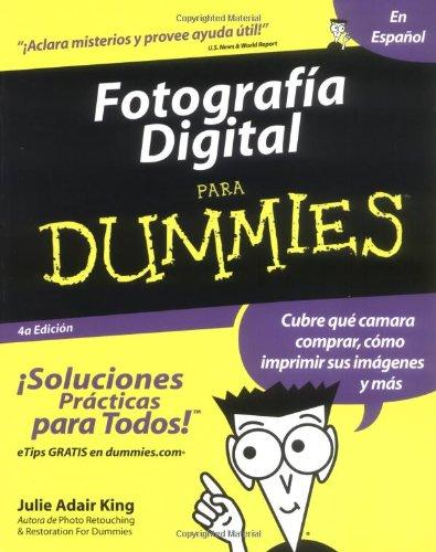 Fotografia Digital Para Dummies (Spanish Edition) by For Dummies