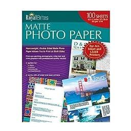 Royal Brites Matte Photo Paper - 200 ct.