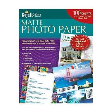 Royal Brites Matte Photo Paper - 200