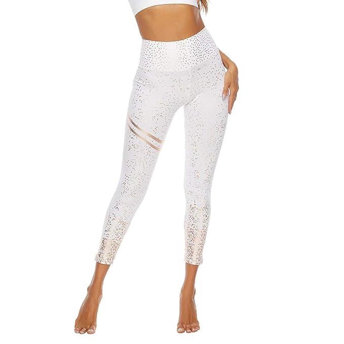 SotRong Pantalones Deportivos Para Mujer Adelgazante Yoga ...