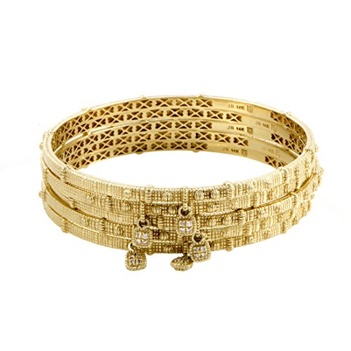 Judith Ripka 14K Yellow Gold D