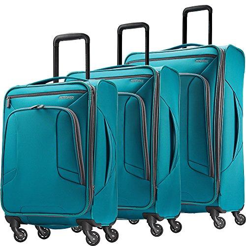 American Tourister 4 Kix 3pc Softside Expandable Spinner Luggage Set-eBags