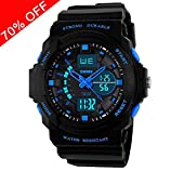 Kid LED Watch Child Boy Girl Sport Multi Function Digital Waterproof Electronic Quartz Watches
