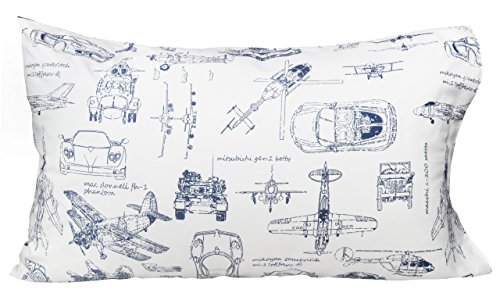 J-pinno Cars Tank Helicopter Aircraft Military Transport Vehicles Twin Sheet Set for Kids Boy Children,100% Cotton, Flat Sheet + Fitted Sheet + Pillowcase Bedding Set (vehicle) by J-pinno (Image #2)