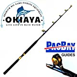 OKIAKA OKIAYA CARBON FIBER VENOM PRO SERIES 50-80LB TOURNAMENT FOR PENN SHIMANO