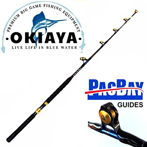 OKIAYA Carbon Fiber Venom PRO Series 50-80LB Tournament Penn Shimano