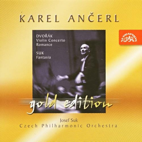 Karel Ančerl, Gold Edition 8 - Dvořák: Violin Concerto, Romance / Suk: Fantasia