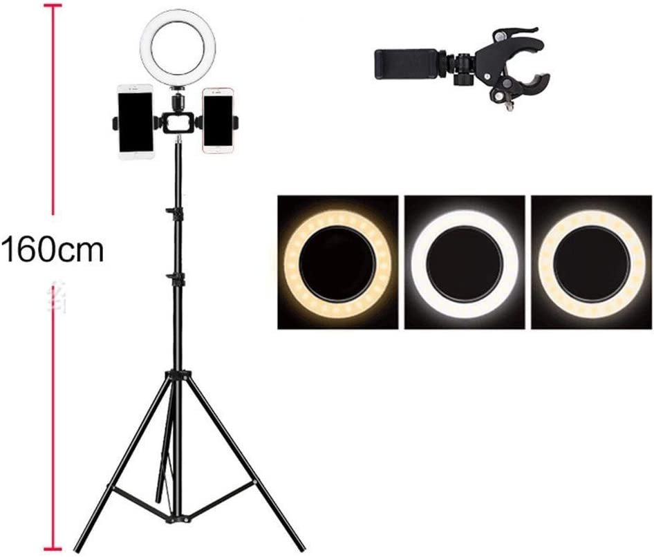 Cascat LED Mobile Phone Live Photography Self-Timer Lamp Macro /& Ringlight Flashes Ring Fill Ring Light