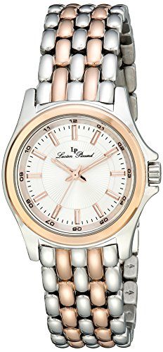 (Lucien Piccard Women's LP-13459-SR-22S Adina Analog Display Japanese Quartz Two Tone Watch)