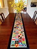 Whimsical Kentucky Derby Party Table Runner - 8' Long - by SaratogaRocksTM