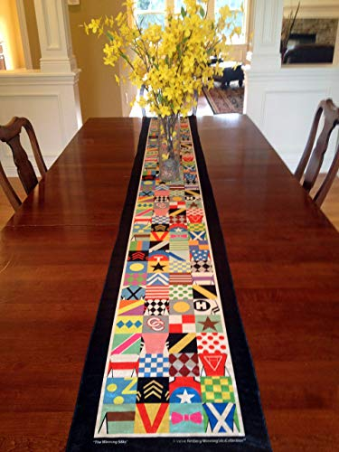 (Whimsical Kentucky Derby Party Table Runner - 8' Long - by SaratogaRocksTM)