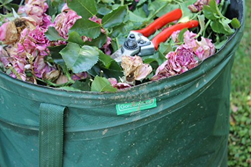 GardenMate 2-Pack 43 Gallons Pop-Up Garden Waste Bags - Collapsible spring bucket - Collapsible Container by GardenMate (Image #3)