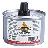 FancyHeat Chafing Fuel Can, Stem Wick, 4-6hr Burn, 8oz, 24/Carton