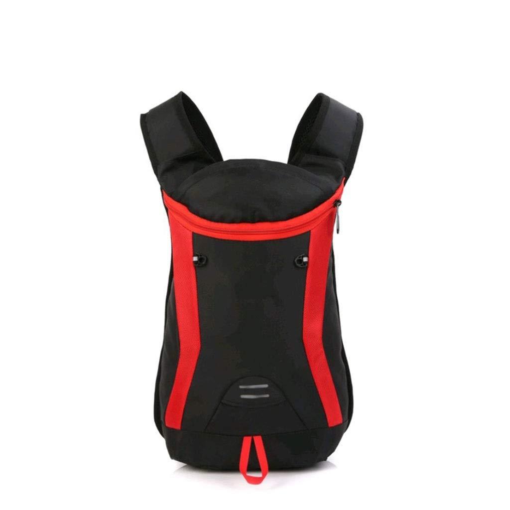DMIZ アウトドアスポーツバックパックハイキング&トラベルバックパックハイキング、トラベル&キャンプ用バックパック防水 (色 : 赤)  赤 B07QFHDBRW