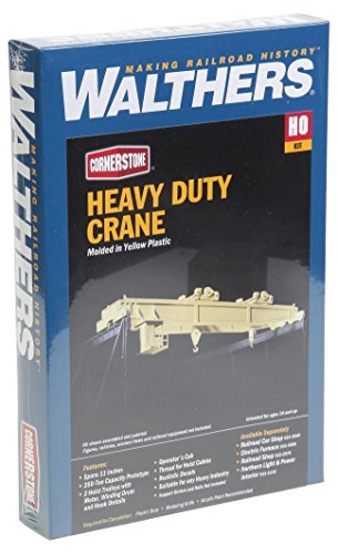Walthers Cornerstone HO Scale Heavy Duty Overhead Crane Structure Kit ()