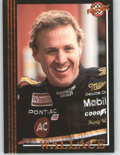 1992 Maxx Black Racing Card # 2 Rusty Wallace - NASCAR Trading Cards - Shipped in Screw Down Case!