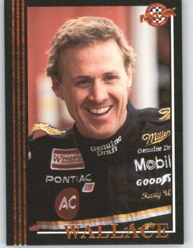 Rusty Wallace Nascar Card (1992 Maxx Black Racing Card # 2 Rusty Wallace - NASCAR Trading Cards - Shipped in Screw Down)
