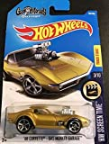 Hot Wheels 2017 HW Screen Time '68 Corvette Gas Monkey Garage 99/365, Gold