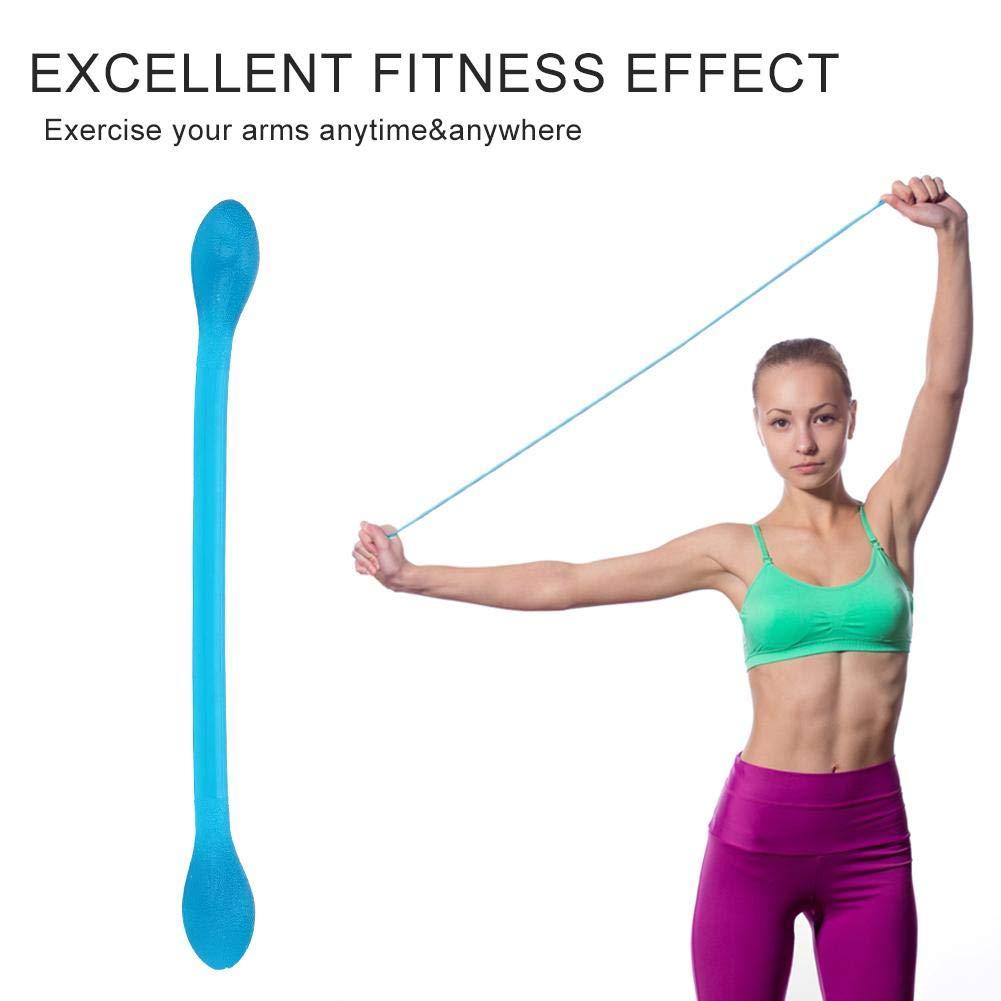 WINOMO Brust Expander Widerstandsb/änder /Übung Stretching Gurt f/ür Home /Übung Fitness schwarz