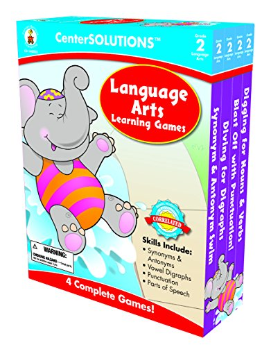 Carson-Dellosa Publishing Language Arts Learning Games, Grade 2