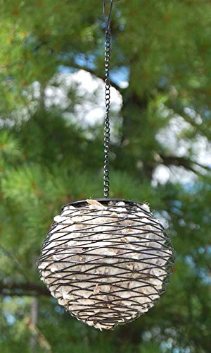 Heath Birdie Ball Nesting Material Holders, Pack of 4 ()