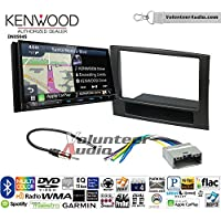 Volunteer Audio Kenwood Excelon DNX994S Double Din Radio Install Kit with GPS Navigation Apple CarPlay Android Auto Fits 2006-2008 Ram
