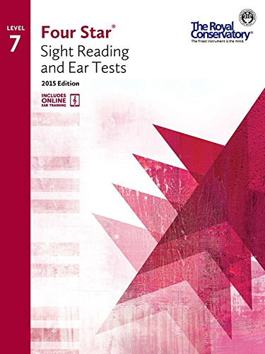 4S07 - Royal Conservatory Four Star Sight Reading and Ear Tests Level 7 Book 2015 Edition
