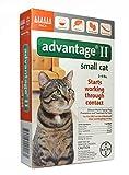 Advantage II Topical Flea Treatment for Cats 5-9 lbs. 6doses