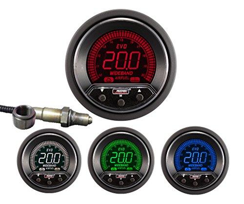 NEW Prosport 52mm Premium EVO Wideband Digital Air Fuel Ratio Kit by Prosport Gauges